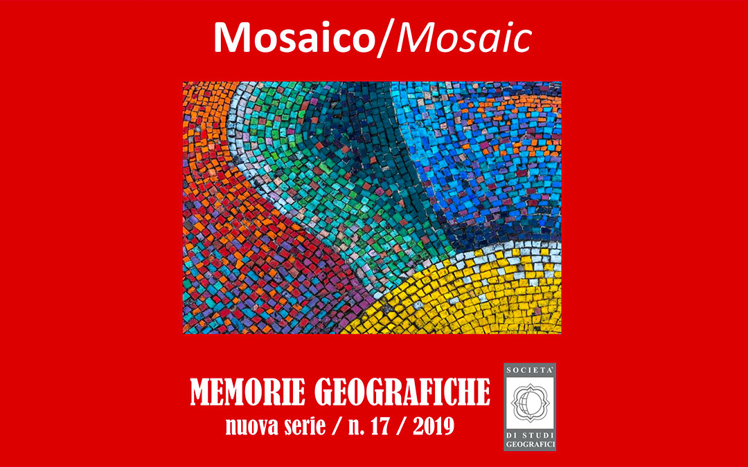 "Memorie Geografiche Vol. XVII ""Mosaico"""